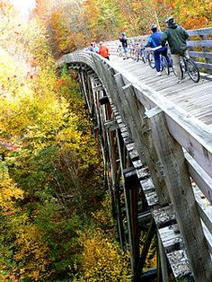 Virginia Creeper Trail--definitely on my to-do list!