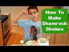 "Easiest Shamrock Shake ever...""It's too good!"""