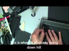 Mini Album Tutorial Part 2 Using the Envelope Punch Board - YouTube