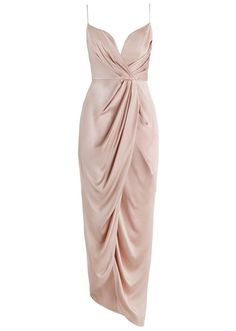 19 Metallic Bridesmaid Dresses You'll Actually Want to Wear Sueded Silk Plunge Dress – Zimmermann Evening Dresses, Prom Dresses, Formal Dresses, Long Dresses, Dress Long, Tea Dresses, Afternoon Dresses, Skater Dresses, Casual Dresses