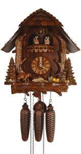 Relógio de Cuco <br> Tronco, Urso, Marmot