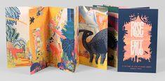 Nomadic Illustrator Micah Lidberg Finds Inspiration in Nature and Where's Waldo Illustrations, Children's Book Illustration, Graphic Design Illustration, Book Cover Design, Book Design, Diy With Kids, Art Zine, Accordion Book, Sketchbook Inspiration