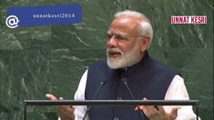 Watch Full Speech of Prime Minister Narendra Modi in United Nations' General Assembly. PM Modi' speech at the UNGA was focused on how the Modi Government has. United Nations Headquarters, Ceiling Design, Global Warming, Acting, Politics, Watch, News, Modern, Roof Design