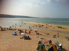 Another summer's day in Hayle, Cornwall - www.millyandmartha.com