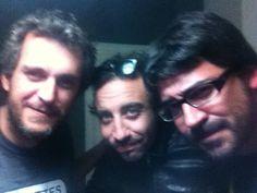 Rafa Pons, Lucas Masciano y Dani Flaco (Twitter)