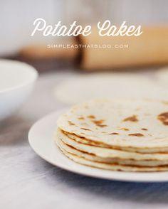 Norwegian Lefse or Potatoe Cakes Recipe
