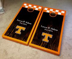 2 Cornhole Decals Tennessee Volunteers Fear This Cornhole Decals