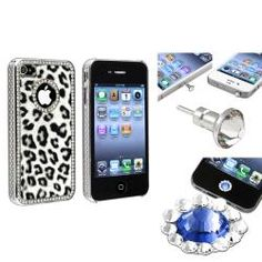 @Overstock - This is a 3-piece set for Apple® iPhone 4/ 4S. Protect your cell phone against bumps, dust, and scratches with this accessory set.http://www.overstock.com/Electronics/Leopard-Case-Home-Button-Sticker-Dust-Cap-for-Apple-iPhone-4-4S/6972575/product.html?CID=214117 $11.49
