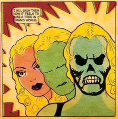 Comics: Fantomah: The First Kick-Ass Female Superhero Comic Books Art, Comic Art, Book Art, Comic Book Panels, Female Superhero, Retro Waves, Horror Comics, Comics Girls, Pulp Art