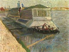 Vincent Van Gogh – The Bathing Float Paris