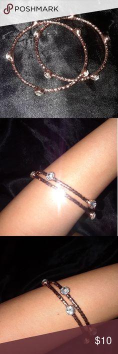 Rose gold bangles Rose gold bangles Jewelry Bracelets