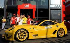Ferrari 599XX Evo auctioned to Google executive Benjamin Sloss for $1,780,000