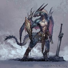 half dragon half man - Google Search