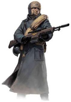 Valhallan guard