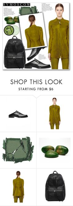 """Svmoscow #2"" by lejla-7 ❤ liked on Polyvore featuring Balenciaga, Isaac Reina, Surratt and The Body Shop"