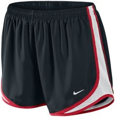 Nike Women's Tempo Shorts - M, Like black with red, pink, blue trim