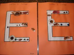 Play and Learn with Dana: Letter Ee Teaching The Alphabet, Teaching Kids, Kids Learning, Letter E Activities, Letter Of The Week, Alphabet Crafts, Letter Writing, Literacy, Door Handles