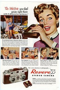 old camera ads