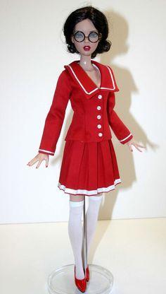 "Manga Outfit for 16"" Deja Vu Dolls Tonner #DesignsbyJude"