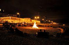 Bonfires on the beach every wednesday through August, fridays in September and October!