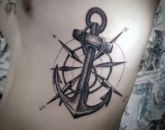 anchor tattoos 9