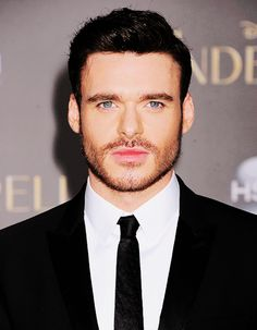 Richard Madden at the LA Premiere of Cinderella