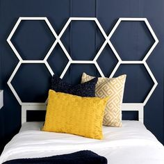 Shop for Honeycomb Twin-size Headboard - White. Get free delivery On EVERYTHING* Overstock - Your Online Furniture Outlet Store! Get in rewards with Club O!