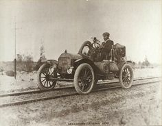 """1910 Brush"" Automobile - a beautiful car which made the first overland crossing of Australia in 1912, more info here.... http://news.drive.com.au/drive/motor-news/desert-trek-is-a-brush-with-past-20110310-1boa4.html"