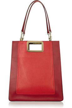 Chloé - two tone red, brass fittings