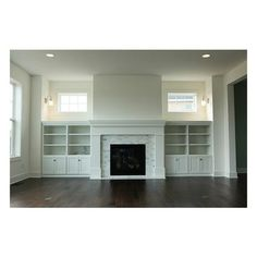This would work in my living room. I already have fireplace and hardwood flooors. Just need to add the windows on either side and the built ins. Fireplace Built Ins, Home Fireplace, Fireplace Remodel, Fireplace Design, Craftsman Fireplace, Fireplace Ideas, Fireplace With Bookshelves, Fireplace Windows, Craftsman Living Rooms
