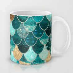 Buy REALLY MERMAID by Monika Strigel as a high quality Mug. Worldwide shipping available at Society6.com. Just one of millions of products available.