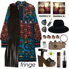 boho spring look - Coachella`16 Festival