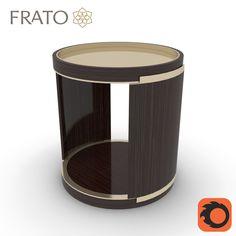 frato bari table 3d max