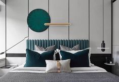 When it comes to texture in interior design, it refers to the surface quality of a piece. They are overlooked aspect of interior design. Master Bedroom Design, Home Bedroom, Modern Bedroom, Bedroom Furniture, Furniture Design, Bedroom Decor, Hotel Room Design, Bedroom Vintage, Luxury Home Decor