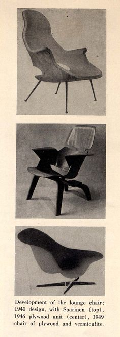 Development of #Eames chairs