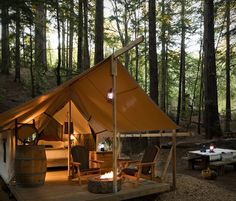 Luxury Tent Rentals with Flexible Location For Tent Camping near Sydney