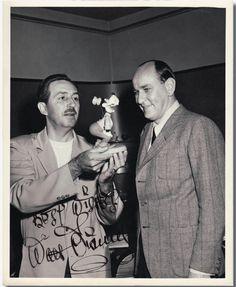 Walt Disney and Goofy! :-)