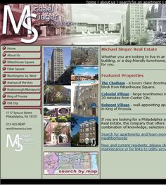 Michael Singer Real Estatelocated at 1117 Spruce St Frnt 2, Philadelphia PA 19107 offers Real Estate Agents.