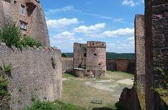 Zwinger und Michelsturm Burg Breuberg