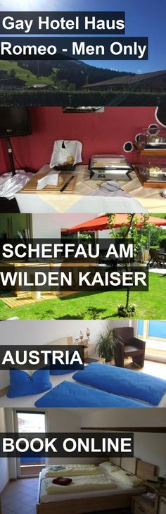 Gay Hotel Haus Romeo - Men Only in Scheffau am Wilden Kaiser, Austria. For more information, photos, reviews and best prices please follow the link. #Austria #ScheffauamWildenKaiser #travel #vacation #hotel