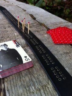 Cribbage board belt!