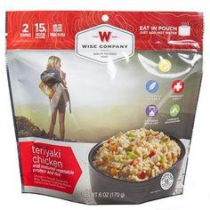 Entr¿e Dish - Teriyaki Chicken and Rice, 2 Servings