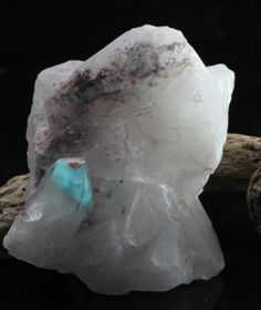 Ajoite This rare stone is mainly in the form of phantoms within crystals It is a very powerful tool it is suggested that it produces Healing Crystals, Stones And Crystals, Under The Surface, Deep Meditation, Crystals For Sale, Love Rocks, Rare Gemstones, Rocks And Minerals, Chakras
