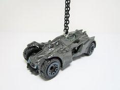 HOT WHEELS 1/64 Batman Arkham Knight Batmobile Christmas Tree Ornament by TinyTreads