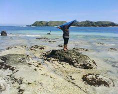 Pantai tanjung an, Lombok tengah, Indonesia. Pantai ini memiliki pasir putih yg sangat lembut dan juga ada pasir putih yg berbentuk bulat2 spt manik2 di sampingnya... beautiful, amazing :*