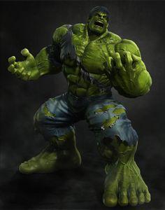 #Hulk #Fan #Art. (Hulk) By: Takehiko Hayashi. ÅWESOMENESS!!!™