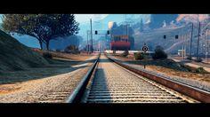 THE TRAIN [Cinematic Experience] - GTA V https://youtu.be/yVuGConY8Bk