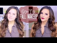 My GO-TO Fall Makeup Look! - YouTube
