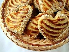 Кунжутное печенье / Рецепты с фото