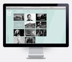 Logo and website design by This Is Studio for specialist music industry PR firm Macbeth Media Relations. #Branding #Design #Website